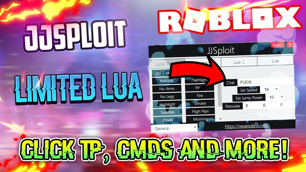 (JAILBREAK HACK) BEST FREE ROBLOX EXPLOIT:JJsploit V4(OP) BTOOLS, INFINITE NITRO , AUTOROB AND MORE #1
