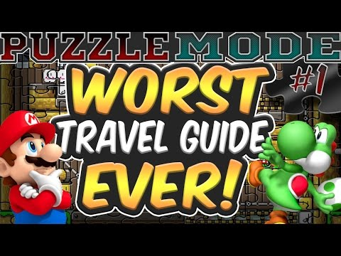 Worst Travel Guide Ever! | Puzzle Mode | Super Mario Maker