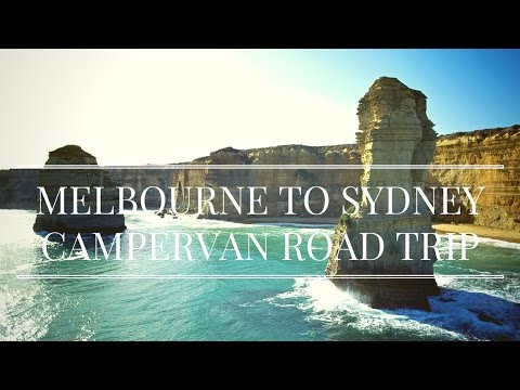 Melbourne to Sydney Coastal Drive - RV Road Trip Vlog | Australia Travel 2017 | GoPro HD