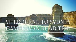 Melbourne to Sydney Coastal Drive - RV Road Trip Vlog | Australia Travel 2017 | GoPro HD
