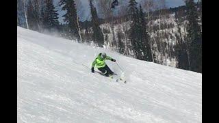 Head SL RD. Трассовое катание на горных лыжах, карвинг в Шерегеше, трасса Лоб