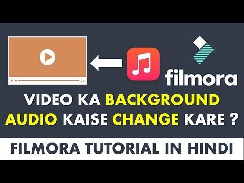 Change Video Background Music in Filmora