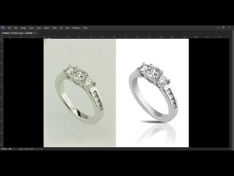 How To Edit Jewellery In Photoshop (Ring)