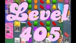 Candy Crush Saga Level 405 (Mute)