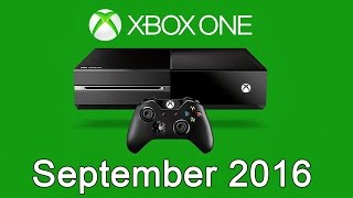 XBOX ONE Free Games - September 2016