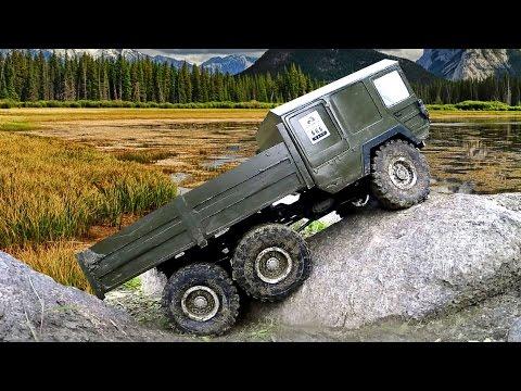 OFF Road mud fun adventure - RC MAN Truck RC4WD the Beast 6x6