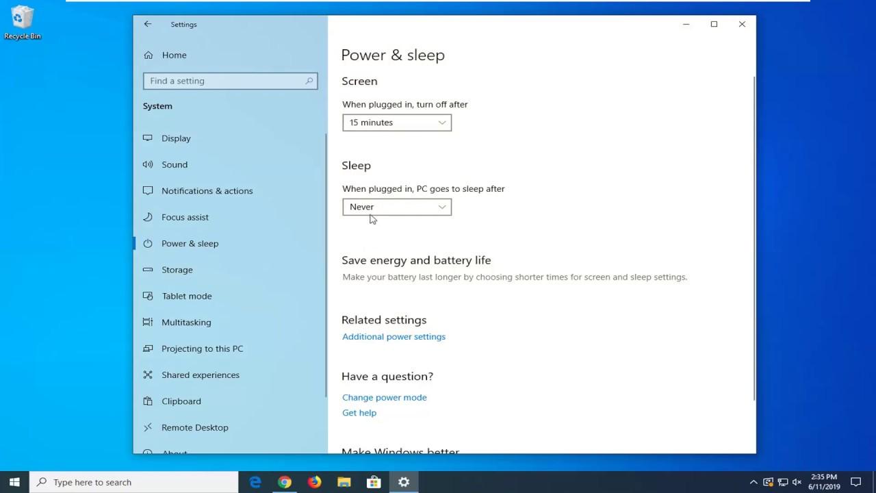 Cách Thay Đổi Thời Gian Chờ Khóa Màn Hình Trong Windows 10 - VERA STAR