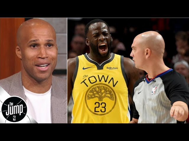'Draymond, we don't care!' – Richard Jefferson on Green's complaints | The Jump