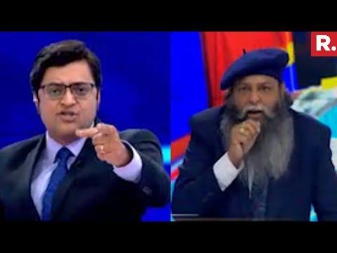 Arnab Goswami Vs Suraj Pal Amu   The Debate With Arnab Goswami