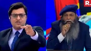 Arnab Goswami Vs Suraj Pal Amu | The Debate Wit...