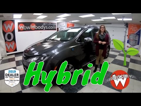 2018 Chrysler Pacifica Hybrid Limited 18HG23 Review | Video Walkaround | Used Cars at WowWoodys