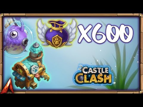 Opening 600 Pet Bags Ll! Update On New Heroes! Castle Clash