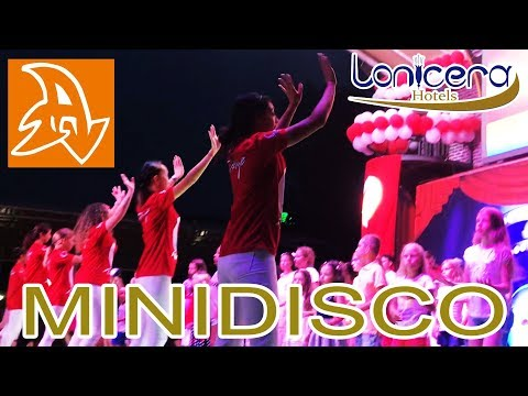 Lonicera Resort And Spa 5* Детская дискотека в Турции. Мини диско. Disco For Children. Mini Disco.