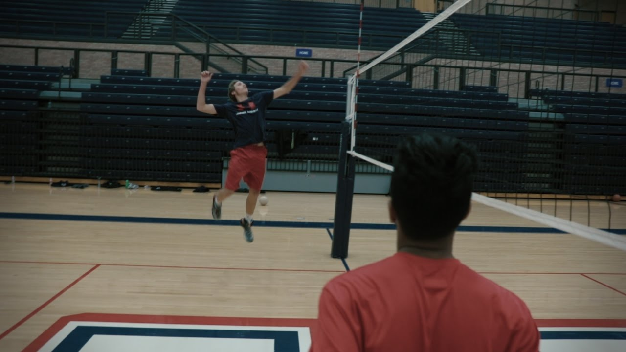 Allen Eagle Men's Volleyball Team Recruitment Video