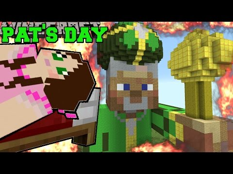 Minecraft: BURNING ST. PATRICK