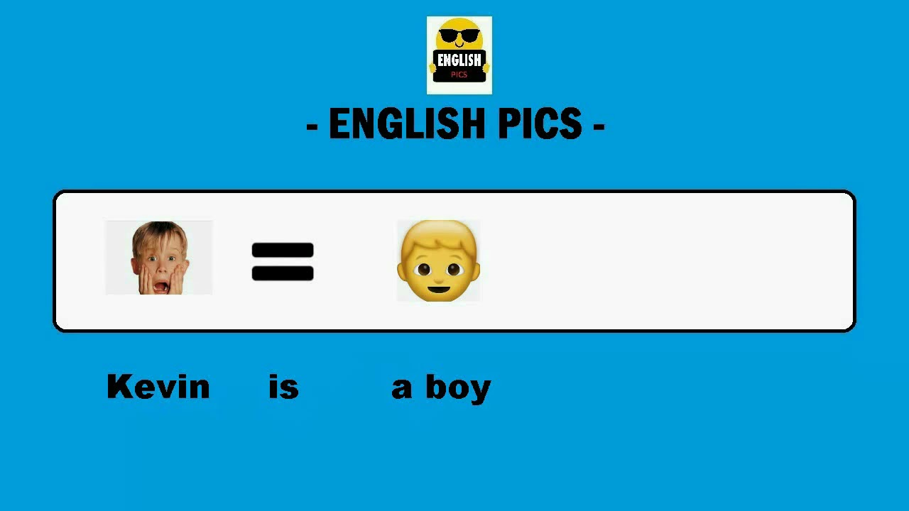 1 Learn English with Pictures Emoijs and Subtitles *A1 Level Beginner*