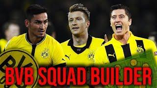 BEST DORTMUND SQUAD EVER!!! #BVBSquadBuilder |#1