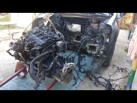 G9T 606 Renault Velsatis 2,2 DCI 2006 г снятый двигатель