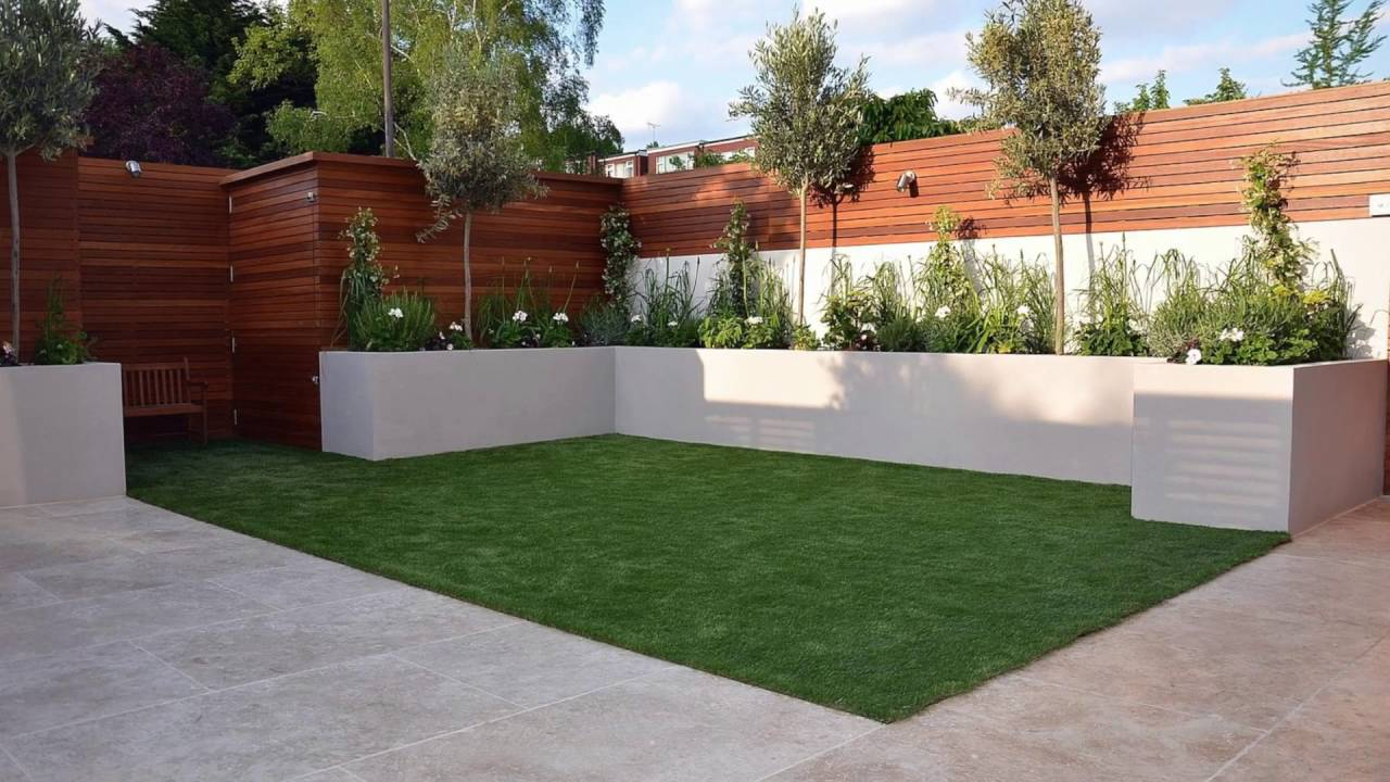 Small garden design ideas youtube for Landscape design for small garden