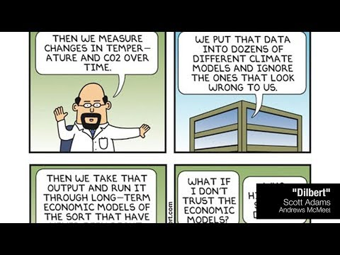 No Matter what Dilbert Tells You - Climate Science not Based on Models