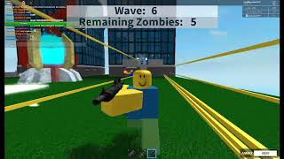Roblox We pushed to another level to beat The Zombies