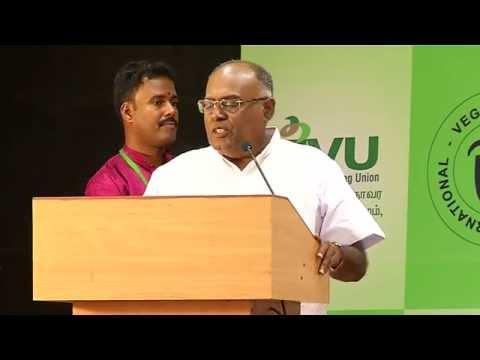 IVU 42nd world veg fest at chennai - pala karrupaiyya speech