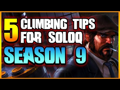 5 BEST CLIMBING TIPS FOR SEASON 9 | League of Legends thumbnail