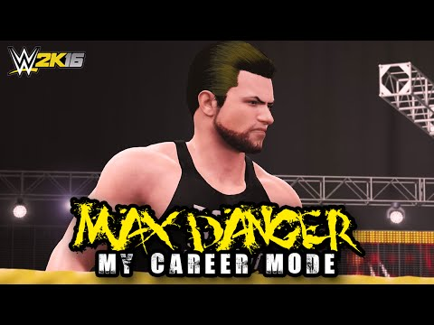 "Max Danger: Chasing a Legacy - Ep. 2 - ""FIRST TELEVISED MATCH!!"" [WWE 2K16 My Career Mode]"