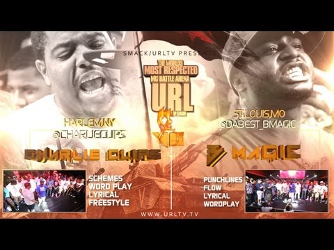 Smack / URL Presents Charlie Clips vs B Magic (Rap Battle)
