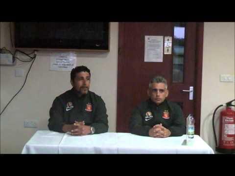 Robins 2-1 Valletta: Paul Zammit press conference