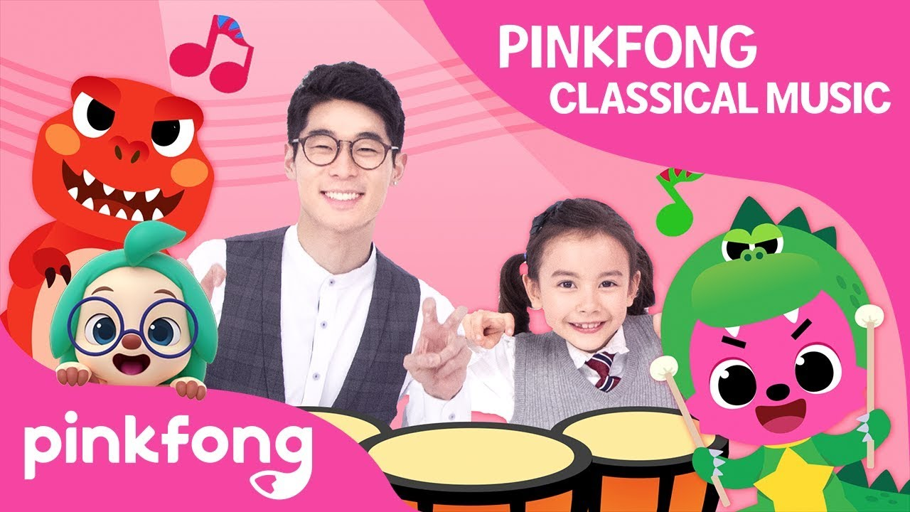 Pinkfong Classical Music: Classical Instruments-Percussion | Pinkfong Songs for Children