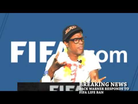 Jack Warner responds to FIFA ban and US extradition (Wired868)