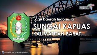 Sungai Kapuas - Lagu Daerah Kalimantan Barat (Karoke, Lirik dan Terjemahan)