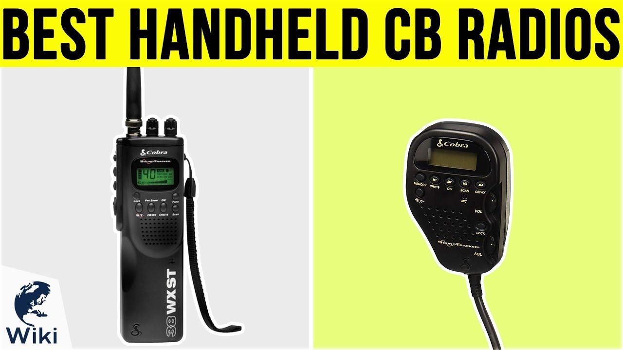6 Best Handheld Cb Radios 2019 Youtube