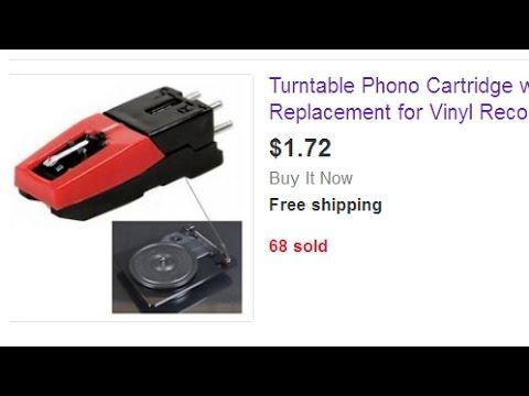 The world's cheapest phono cartridge - YouTube