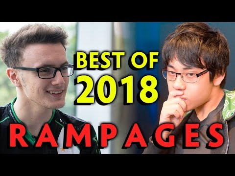2018 BEST RAMPAGES In Pro Dota