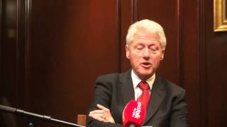Bill Clinton talks shutdowns and Obamacare on The Pat Kenny Show