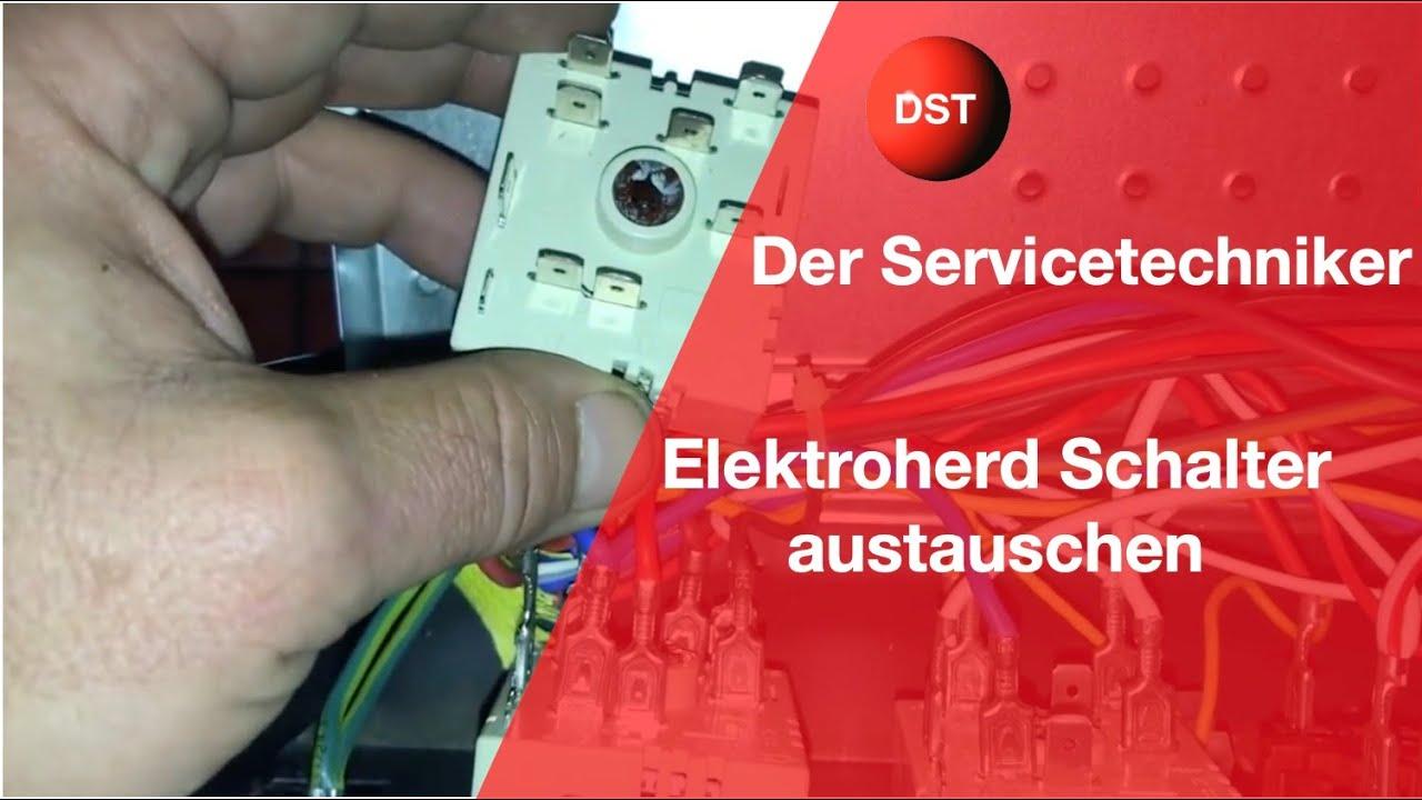 Energieregler wechseln leicht gemachet, Schalter tauschen ...