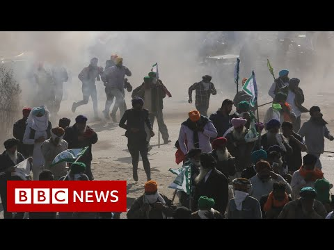 Farmers protest: Indian farmers clash with …