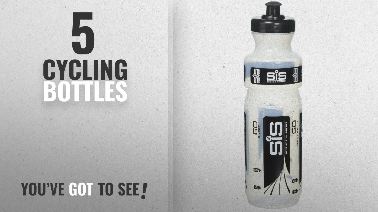 f8b97b619b Top 10 Cycling Bottles [2018]: Science in Sport Clear Drinks Bottle ...