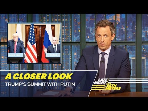 Trump's Summit with Putin: A Closer Look