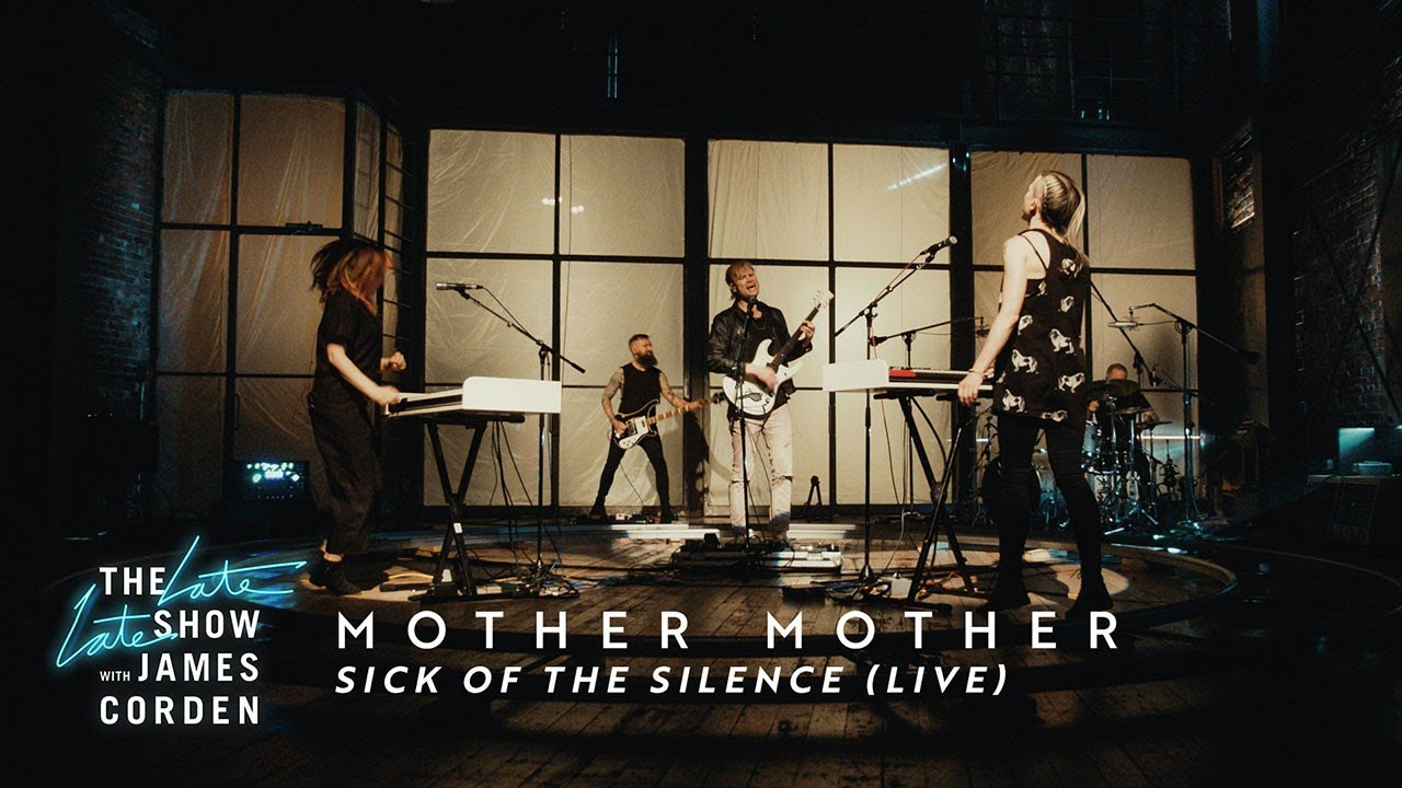 Mother Mother - Sick of the Silence (Live on The Late Late Show With James Corden)