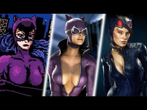 Evolution Of Catwoman In Games In 15 Minutes (2019)