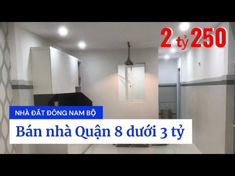 Chính chủ bán nhà Quận 8 dưới 3 tỷ, ngay chợ Phú Lợi 2, đường Trịnh Quang Nghị
