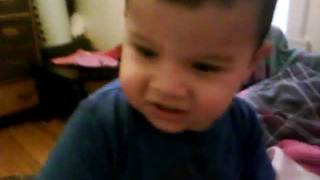 Cute Baby Boy Singing Yo Gabba Gabbba Songs