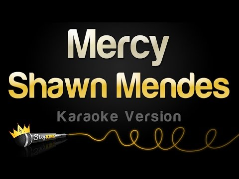 Shawn Mendes  Mercy Karaoke Version