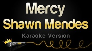 Shawn Mendes - Mercy (Karaoke Version)