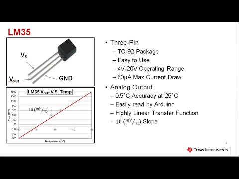 How To Interface The LM35 Analog Temperature Sensor With Arduino
