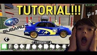 Car Parking Multiplayer Subaru Impreza Wrx Sti Race Car Tutorial Youtube