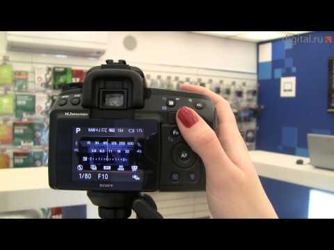 Видеообзор зеркальной фотокамеры Sony DSLR-A450L